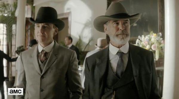 "Pierce Brosnan stars in the AMC series ""The"