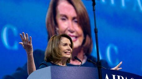 House Minority Leader Nancy Pelosi, a California Democrat,