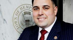 Hempstead Town Councilman Anthony D'Esposito voted Tuesday to