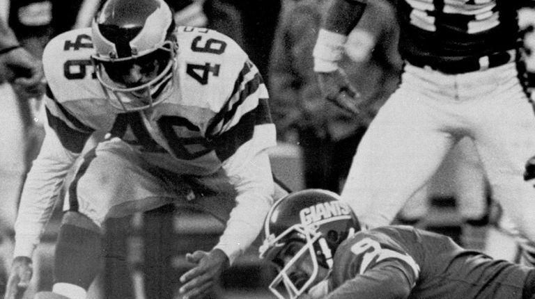 In this Nov. 19, 1978, file photo,Philadelphia Eagles'