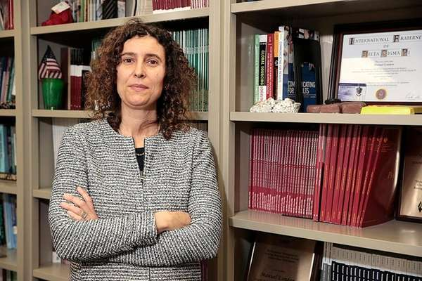 Julia Bear, assistant professor at Stony Brook University's