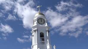 Hempstead Town officials formally unveiled the newly restored,