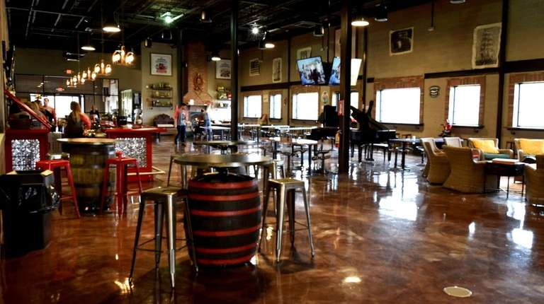 There are 24 taps at Riverhead Ciderhouse, which