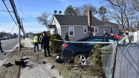 A driver who Suffolk County police said had