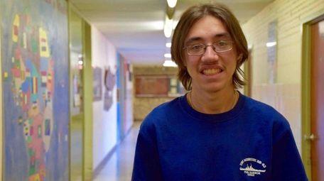 Christian Ranieri, a senior at Northport High School,