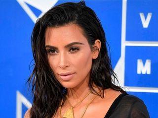 Kim Kardashian, who has had problems with her