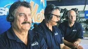 Keith Hernandez, Ron Darling and Gary Cohen have
