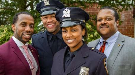 Police work is a family affair for new