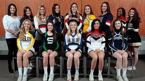 2017 Newsday All Long Island Cheerleading Team: (seated