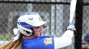 East Meadow's Christina Loeffler homered during East Meadow's