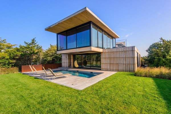 This Amagansett home, listed for $9.45 million, was