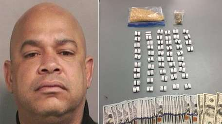 Kenneth Mateo, 45, of Elmont, was arrested Thursday,