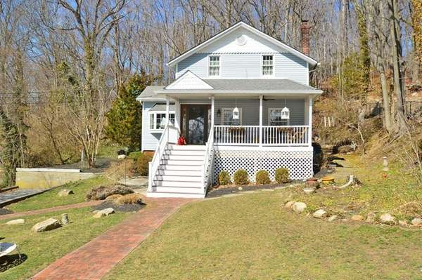 This Port Jefferson Village house has been renovated.