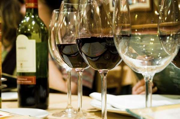 Imbibers can sample more than 100 wines at