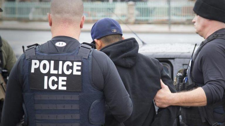 ICE agents.