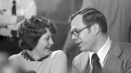 Francine Hughes and her laywer, Arjen Greydanus, in