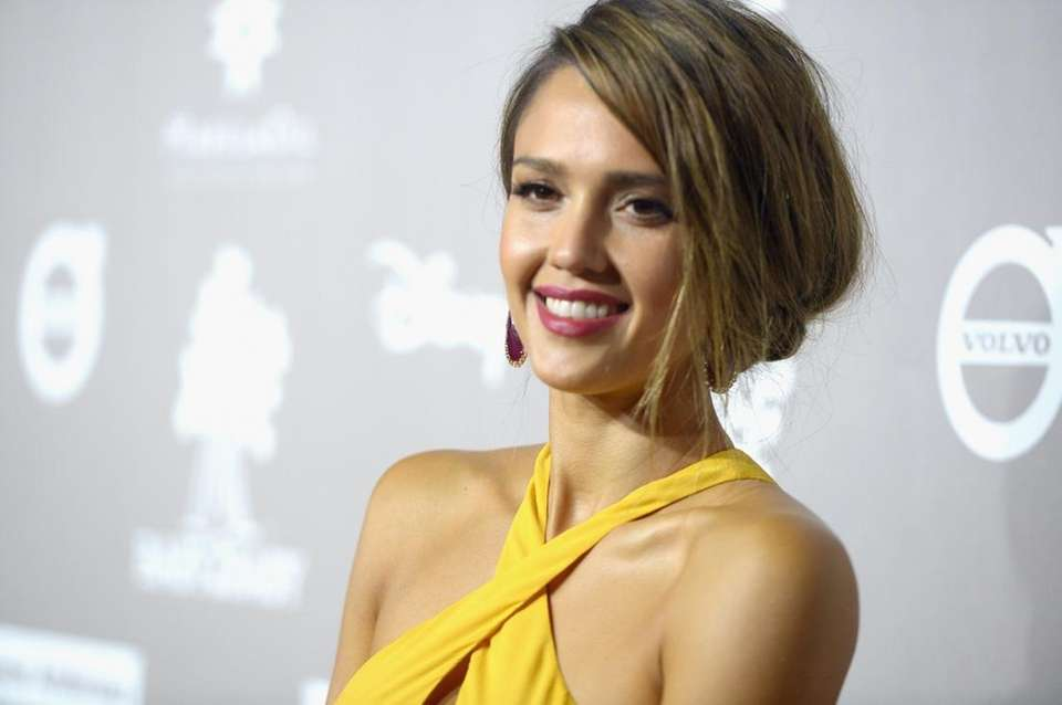 Actress and businesswoman Jessica Alba was born April