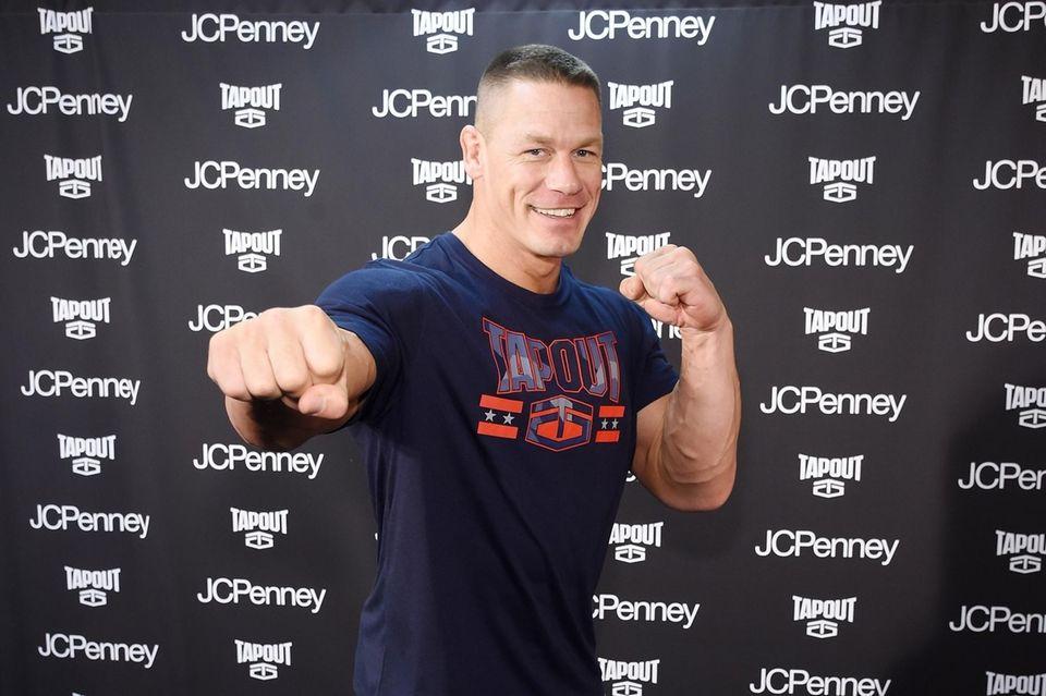 Professional wrestler and actor John Cena was born