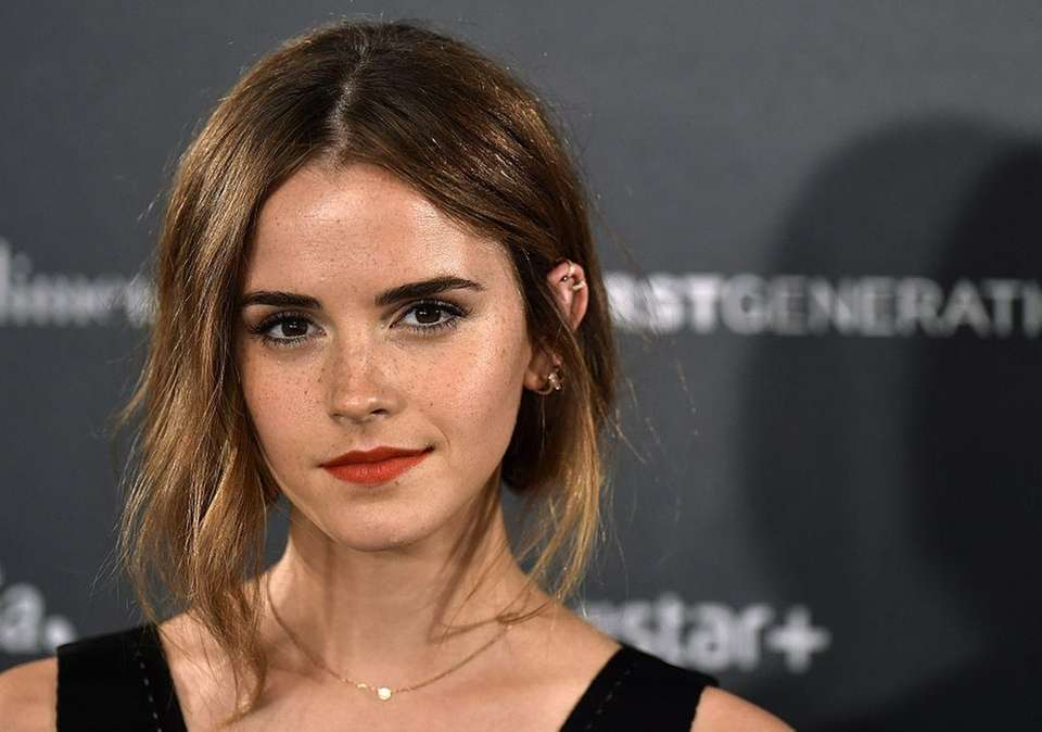 Actress and Global Goodwill Ambassador Emma Watson was