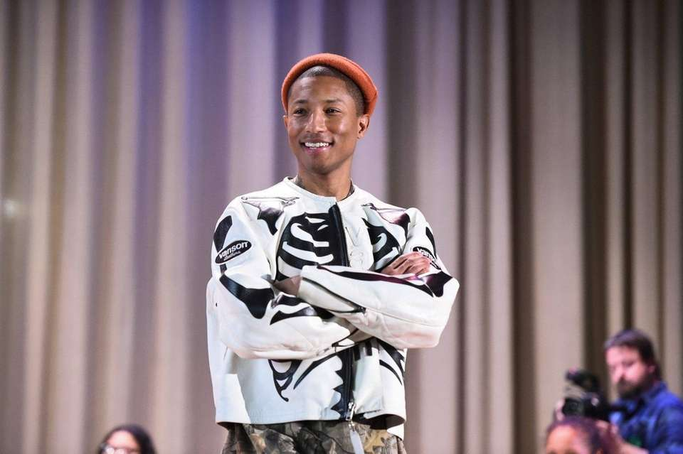Grammy-winning artist Pharrell Williams was born April 5,
