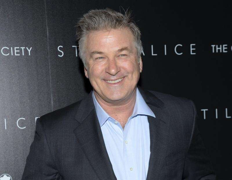 Comedian and actor Alec Baldwin was born April