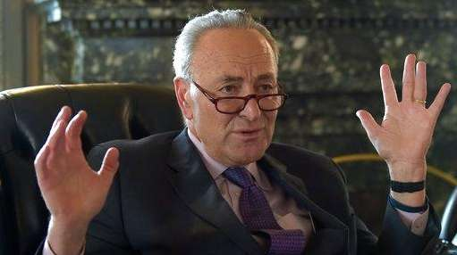Senate Minority Leader Sen. Charles Schumer of N.Y.,