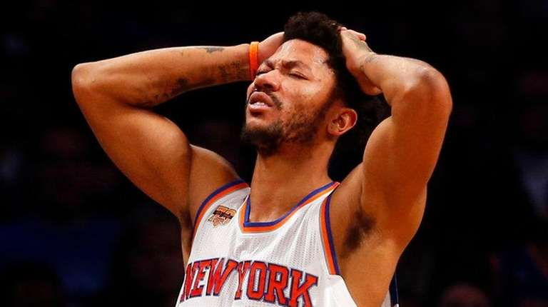 d6d9727230e9 Derrick Rose out for season with torn meniscus in left knee
