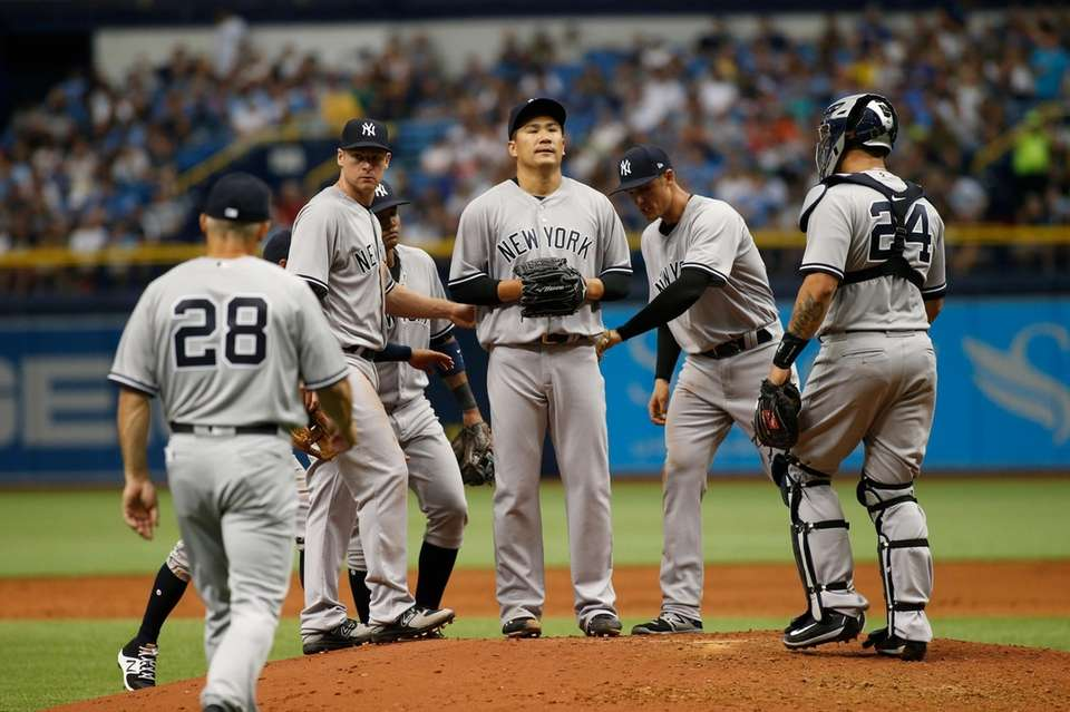 The Yankees' 7-3 loss to the Tampa Bay