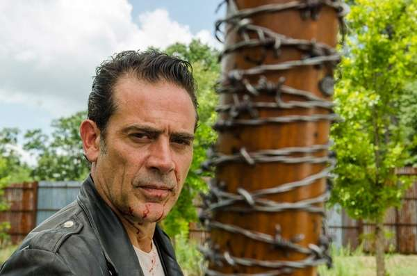 We all knew Negan, played by actor Jeffrey