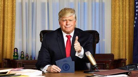 Anthony Atamanuik will play President Donald Trump in