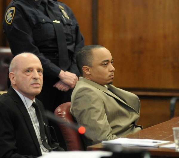 Tyrone Howard, 33, right, the man convicted in
