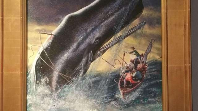 Mort Kunstler's oil giclee painting is one of