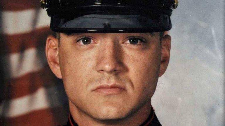 Bartholomew Ryan, seen in a Marine file photo,