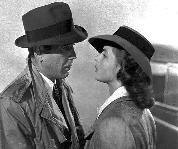 Cast: Humphrey Bogart, Ingrid Bergman, Claude Rains, Peter