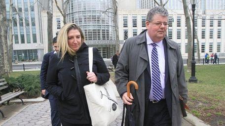 Former Brooklyn prosecutor Tara Lenich pleaded guilty Monday,