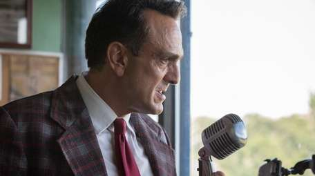 Hank Azaria stars as a famous announcer who's