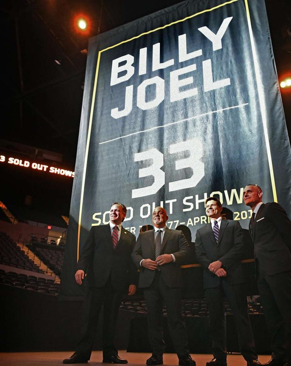 Nassau County Executive Edward Mangano, Billy Joel, Andrew