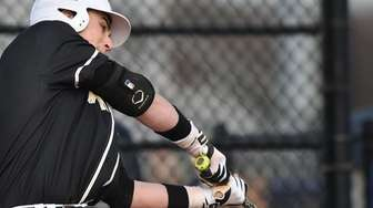 Wantagh first baseman Anthony Fontana #4 connects during