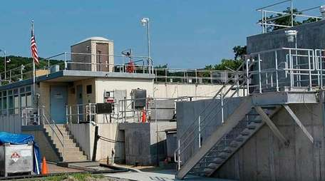 The final phase of the Northport treatment plant