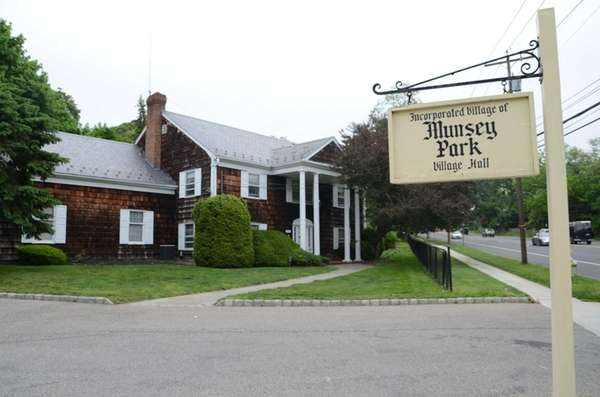 Munsey Park Village Hall is shown on May