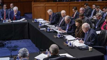 The Senate Judiciary Committee meets to advance the