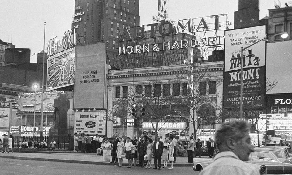 Horn & Hardart was a chain of automats,