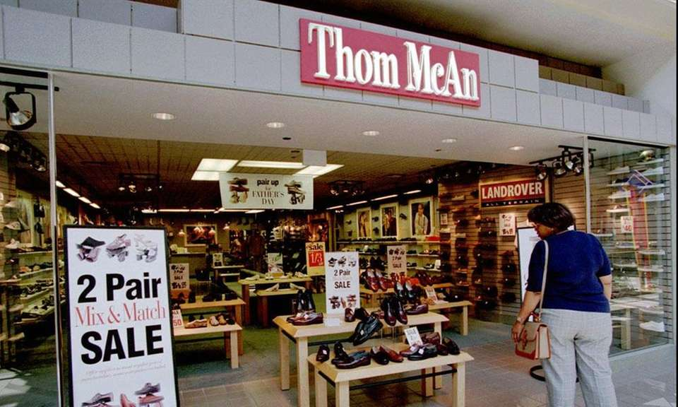 Thom McAn was a chain of shoe stores