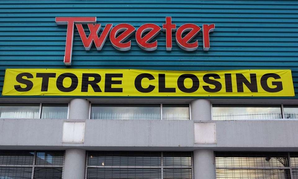 Tweeter was a high-end electronics chain that began