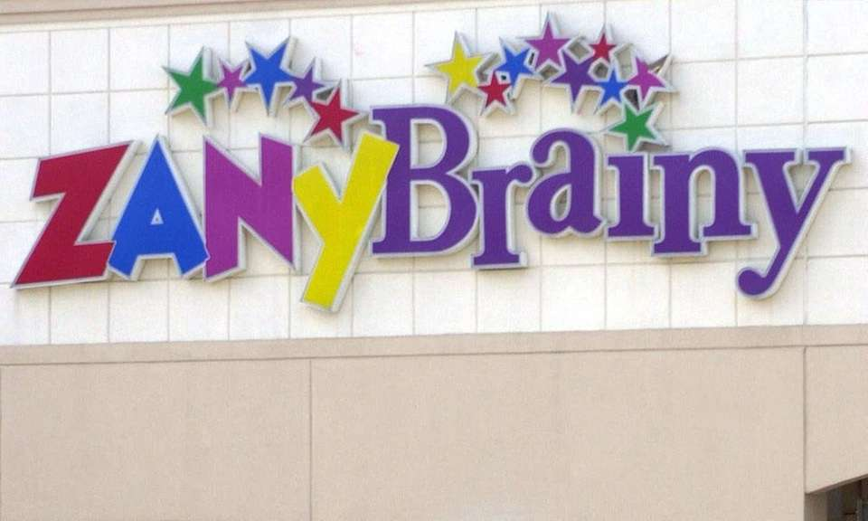 Zany Brainy was a chain of educational toy