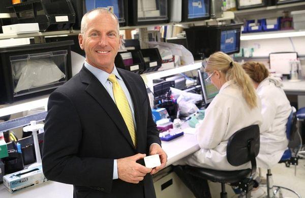 John Sperzel, CEO of Chembio Diagnostics of Medford,