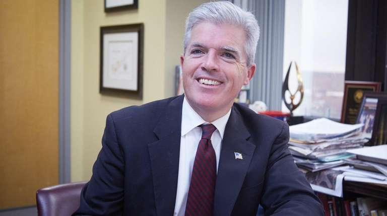 Suffolk County Executive Steve Bellone is pictured on