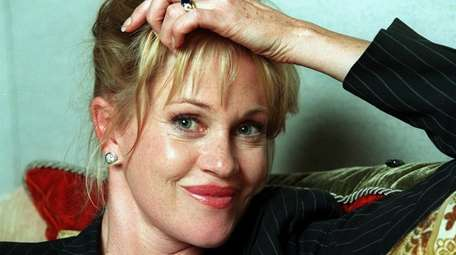 Actress Melanie Griffith, pictured in 2000, says she