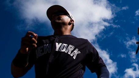 New York Yankees' Gleyber Torres runs to the