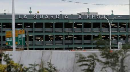 A photo of LaGuardia Airport as seen on